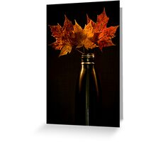 Autumn nostalgia  Greeting Card