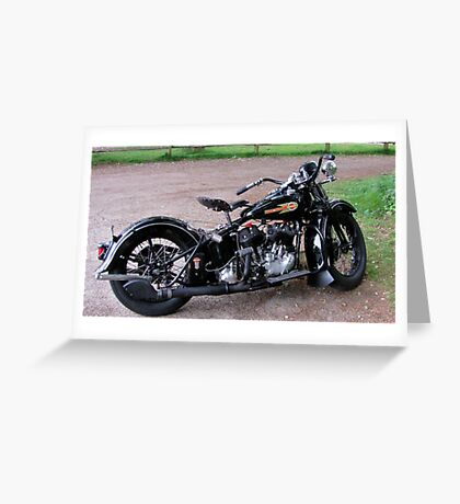 Vintage Easy Rider Greeting Card