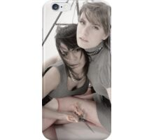 Playing with Sharp Objects iPhone Case/Skin