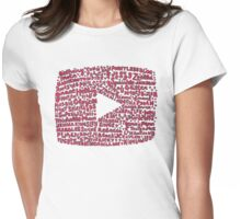 YouTubers Womens Fitted T-Shirt