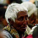 part of the crowd. tabo, northern india by tim buckley | bodhiimages