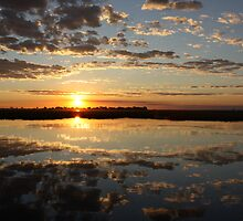 Chobe River Sunset by Graham Deeprose