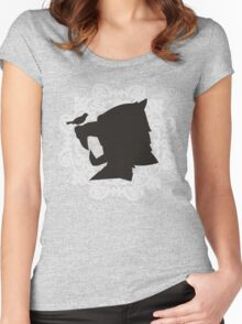 The Hound's Helm Women's Fitted Scoop T-Shirt