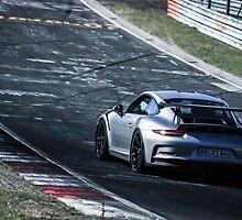 Porsche GT3.RS (991) on the Nürburgring Nordschleife by BridgeToGantry