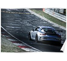 Porsche GT3.RS (991) on the Nürburgring Nordschleife Poster