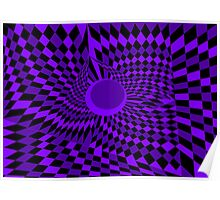 Purple Twister Poster