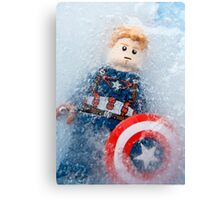You've been asleep, Cap. For almost 70 years. Canvas Print
