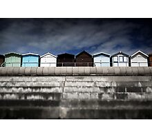 Small Huts, Big World Photographic Print