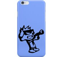 Spiff's Death Ray (Blue) iPhone Case/Skin