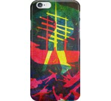 The Pequod #1 (from Meditations on Moby Dick) iPhone Case/Skin