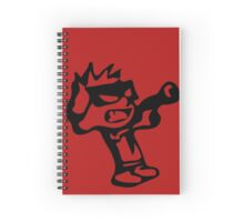 Spiff's Death Ray (Red) Spiral Notebook