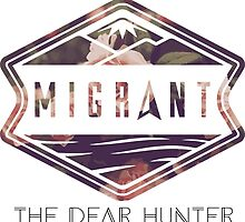 The Dear Hunter Migrant logo by Luke Martin