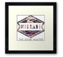 The Dear Hunter Migrant logo Framed Print