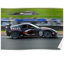 Australian GT Championship | EASTERN CREEK RACEWAY | Sports Car Carnival 2010 | Barrie Nesbitt | Corvette Z06 Poster