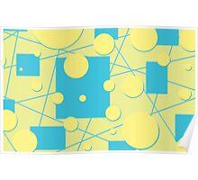 Geo Play in Blueberry Lemonade Poster