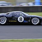 NSW Motor Race Championship - Eastern Creek NSW -  #8 Iain Pretty Roaring Forties GT40 by Gino Iori