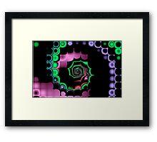 TGS Fractal Abstract Framed Print