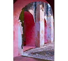Valladolid Arcade Photographic Print