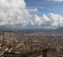 Spaccanapoli - the Historic Main Street That Divides the Center of Naples, Italy by Georgia Mizuleva