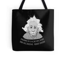 Words of a Genius Tote Bag