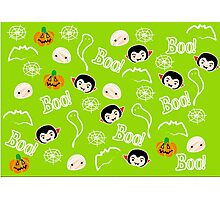 Boo! Pattern Photographic Print