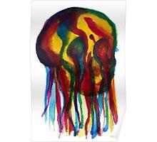 Primary Skull Poster