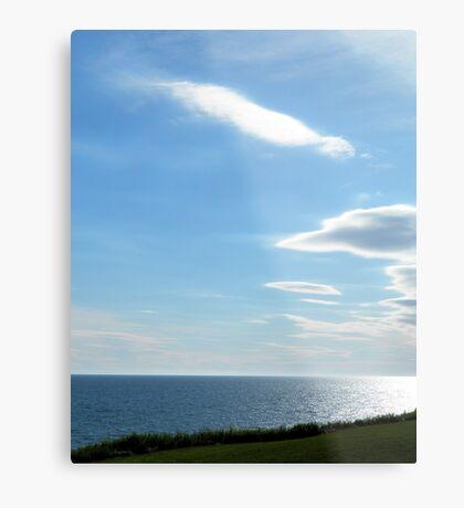 Open Seas- Homer Alaska Metal Print
