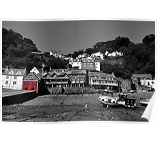 Clovelly Harbour Poster