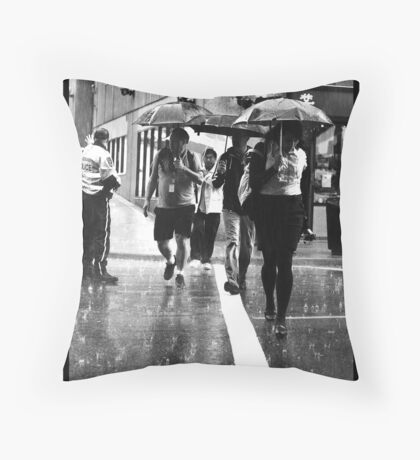 Death March Throw Pillow