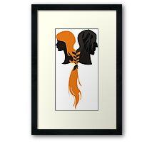 Bound by Hound Framed Print