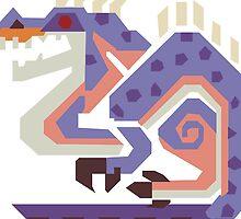 Jaggi Monster Hunter Print by niymi