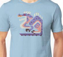 Jaggi Monster Hunter Print Unisex T-Shirt