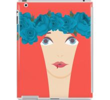 The Blue Roses of Winterfell iPad Case/Skin