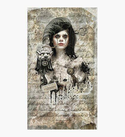 Be Still -Living Dead Girl Photographic Print