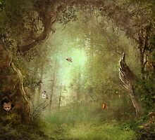 Butterfly Grove by Jena DellaGrottaglia