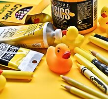 Alright, class! Today we're making Yellow Art! by Susana Weber