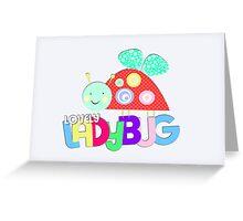 Lovely Ladybug Greeting Card