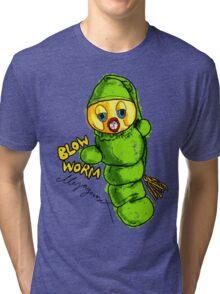 Blow Worm Tri-blend T-Shirt