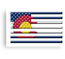 Proud to be a Coloradan! Canvas Print