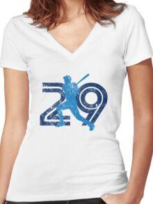 Toronto No. 29 Women's Fitted V-Neck T-Shirt