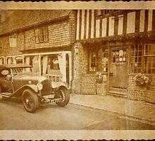 Vintage Car by DonDavisUK
