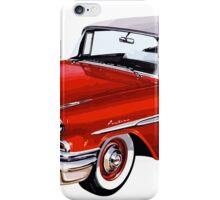 Red vintage car iPhone Case/Skin