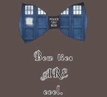 """""""Bow Ties ARE Cool."""" - Dr. Who (image + quote) One Piece - Short Sleeve"""
