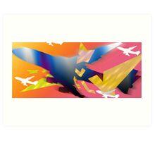 """""""Feelin Fly"""" Art Print"""