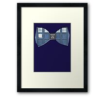 """Bow Ties ARE Cool."" - Dr. Who (Bow tie image only) Framed Print"