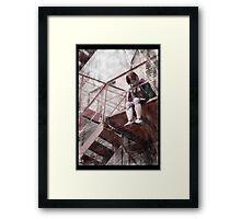 Gothic Photography Series 140  Framed Print