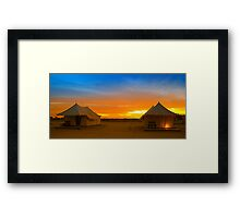 Light of Love Framed Print