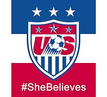 #SheBelieves | USWNT by dysfnctnlysane