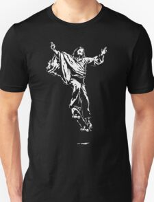 Ollie Christ (white on dark Tee) T-Shirt