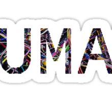 HUMAN Computer Wires Sticker